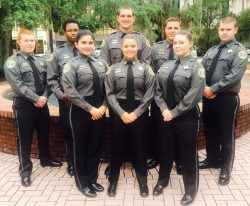 Explorers police officers group